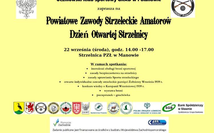 Powiatowe Zawody Strzeleckie Amatorów (22.09.2021 r.)